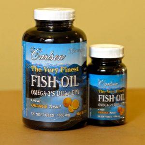 Fish Oil - Orange Flavor