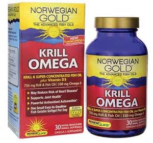 Norwegian Gold krill Omega