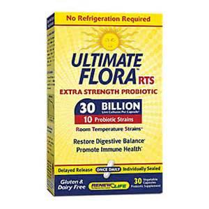 Ultimate Flora Extra Care Probiotic Go Pack 30 Billion