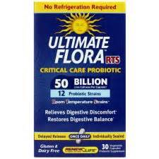 Ultimate Flora Extra Care Probiotic Go Pack 50 Billion