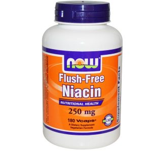 Now Foods, Flush-Free Niacin, 250 mg, 180 Vcaps