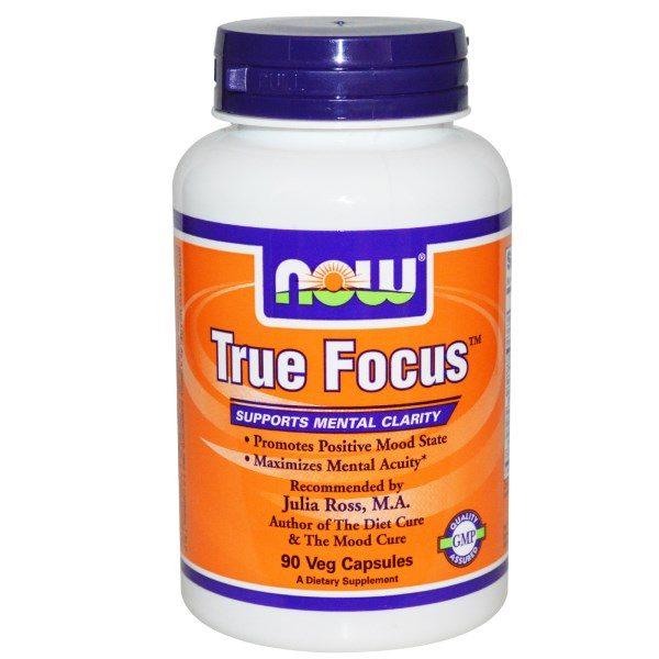 Now Foods, True Focus, 90 Veggie Caps