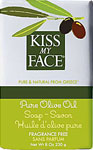 Kiss My Face Bar Soap Pure Olive Oil Fragrance Free