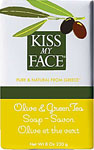 Kiss My Face Bar Soap Olive and Green Tea