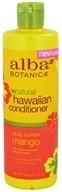 Alba Botanica - Alba Hawaiian Conditioner Body Builder Mango - 12 oz.