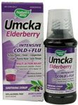 Nature's Way Umka® Elderberry Intensive Cold+Flu Syrup Berry -- 4 fl oz