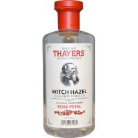 Thayers, Witch Hazel Aloe Vera Formula, Alcohol-Free Toner, Rose Petal, 12 fl oz