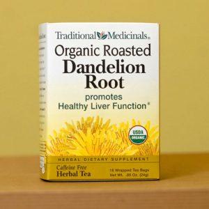 Traditional Medicinals  roasted  Dandelion Tea
