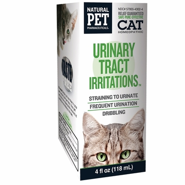 Natural Pet Pharmaceuticals Urinary Tract Infections for Cats (4 oz)