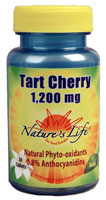 Nature's Life Tart Cherry -- 1200 mg - 30 Tablets