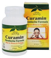 EuroPharma - Terry Naturally Curamin Headache Formula - 60 Tablets