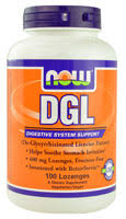 Now Foods DGL 400 mg - 100 Lozenges