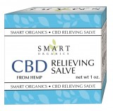 Smart Organics CBD Relieving Salve From Hemp
