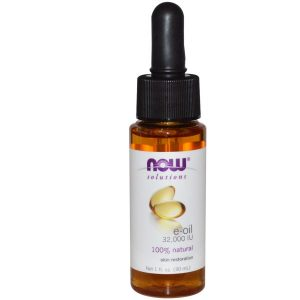 Now Foods, Solutions, E-Oil, 32,000 IU, 1 fl oz (30 ml)