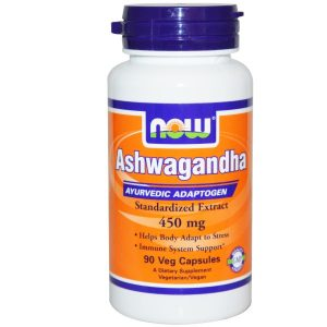 Now Foods, Ashwagandha, 450 mg, 90 Veggie Caps