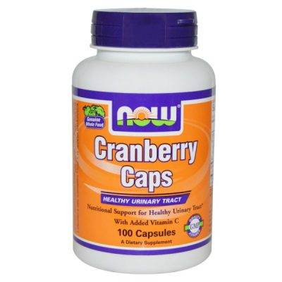 Now Foods, Cranberry Caps, 100 Capsules