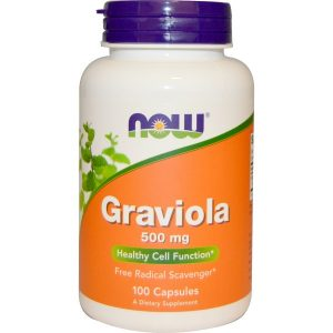 Now Foods, Graviola, 500 mg, 100 Capsules