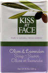Kiss My Face Bar Soap Olive and Lavender