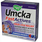 Nature's Way Umcka Fast Actives Cold Relief Berry -- 10 Packets