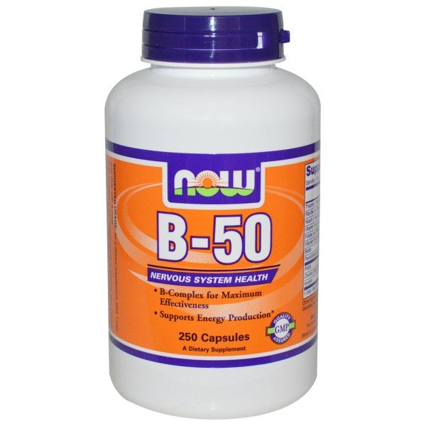 Now Foods, B-50, 250 Capsules