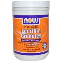 Now Foods, Lecithin Granules, Non-GMO, 1 lb (454 g)