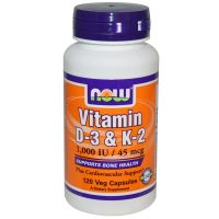 Now Foods, Vitamin D-3 & K-2