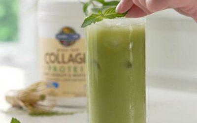 Matcha Green Tea Collagen Latte